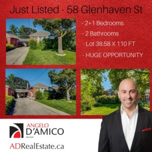 58 GLENHAVEN Just Listed